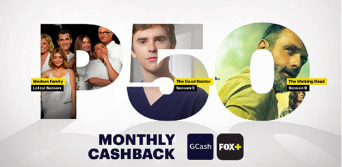 FOX+ teams with GCash to offer 20% off it's video-streaming service