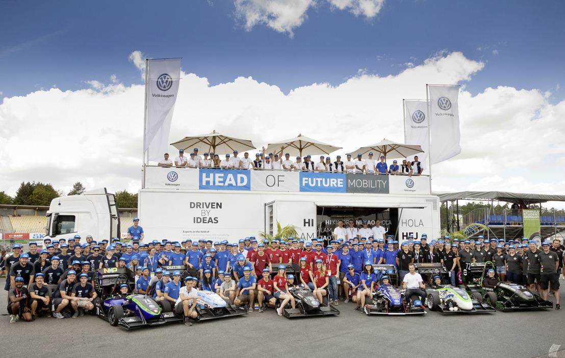 Volkswagen continuará apoyando el Formula Student Germany en su siguiente temporada