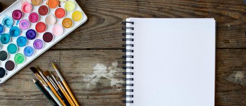 ¿Quieres aprender acuarela? ¡Sigue estos tableros en Pinterest!
