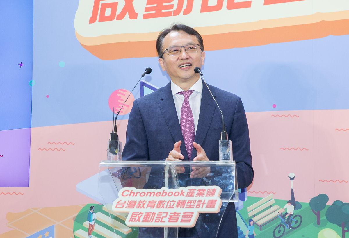 宏碁董事長暨執行長 陳俊聖