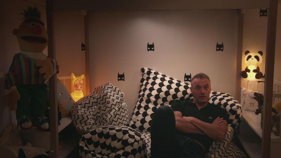 Tom Waes in Het huis (c) VRT