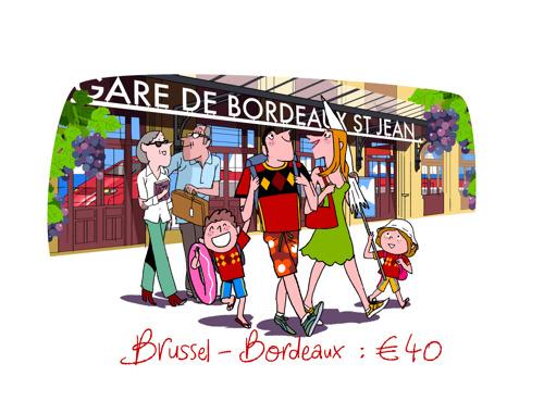 Thalys opent de verkoop van haar nieuwste zomerroute Brussel – Bordeaux