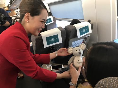 国泰航空与高铁旅客同行 引领健康生活方式 守护春运旅程