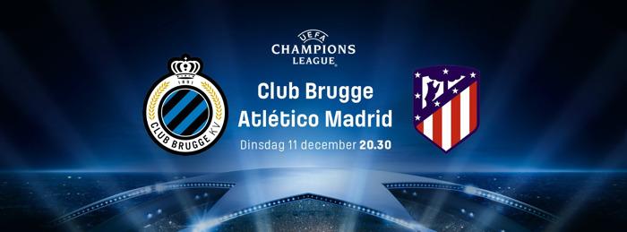 Club Brugge sluit Champions League af tegen Atlético Madrid