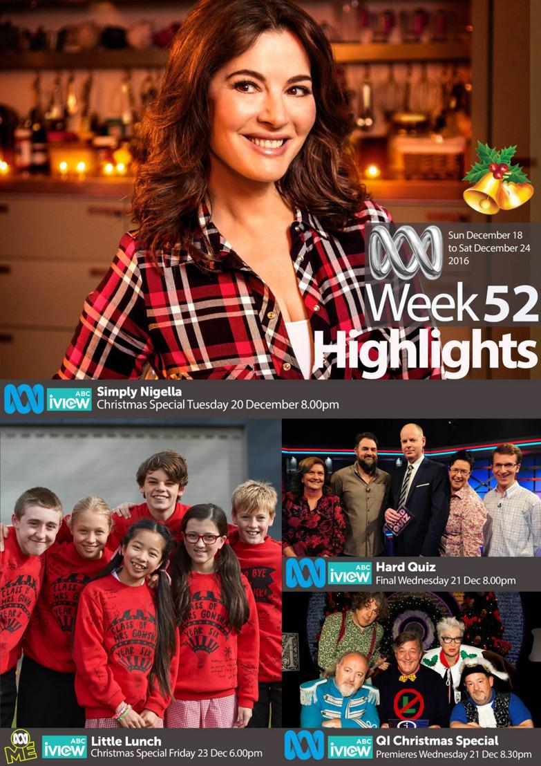 ABC Program Highlights - Week 52