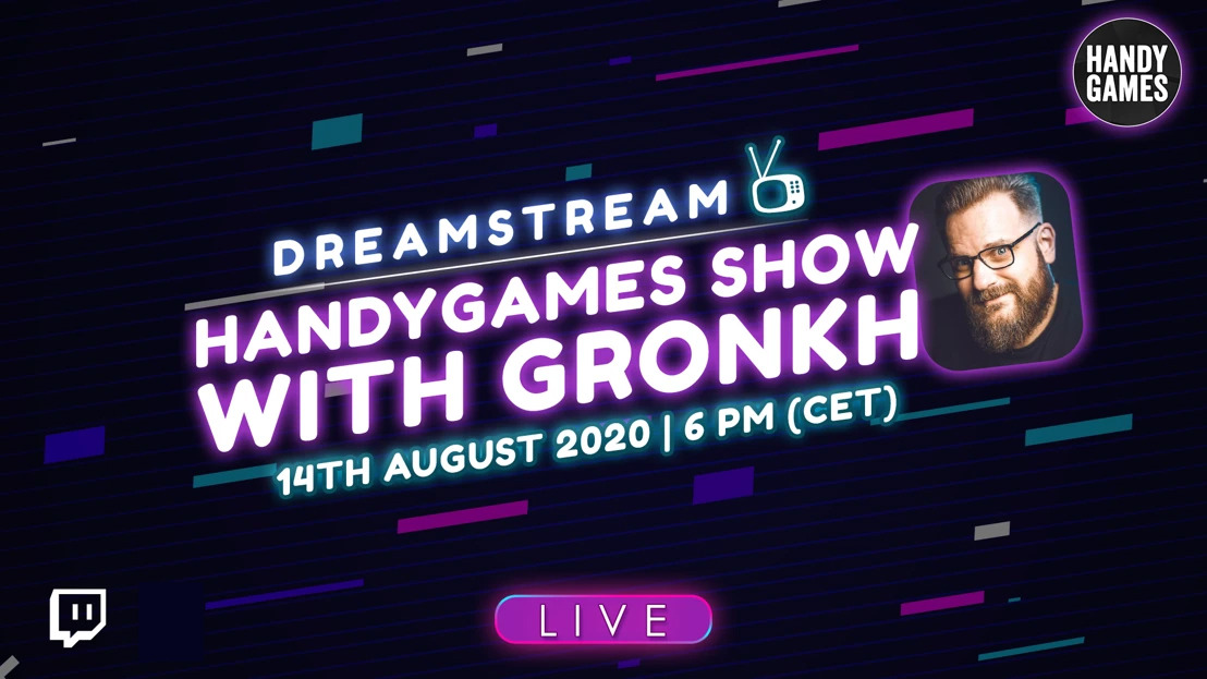Let's Play Event - Indie Games from publisher HandyGames with Gronkh °LIVE!