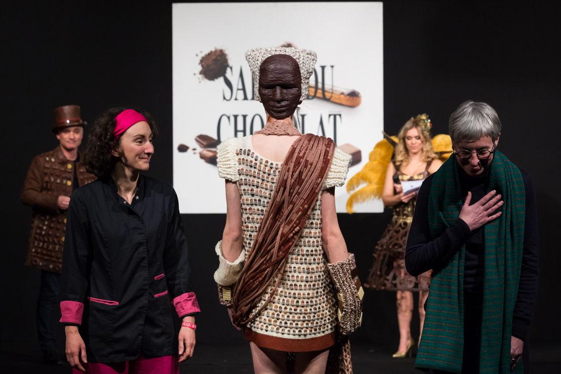 La robe de Céline Bouzezga des Contes de Fèves et Nathalie Stockman