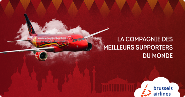 Preview: Brussels Airlines emmène les supporters à la Coupe du Monde en Russie