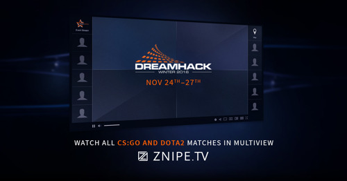 ZNIPE PARTNER WITH DREAMHACK