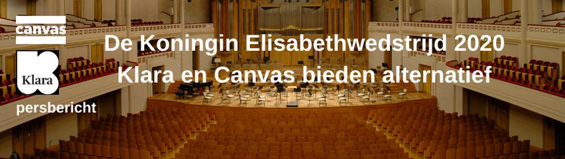 Klara en Canvas bieden alternatief voor Koningin Elisabethwedstrijd