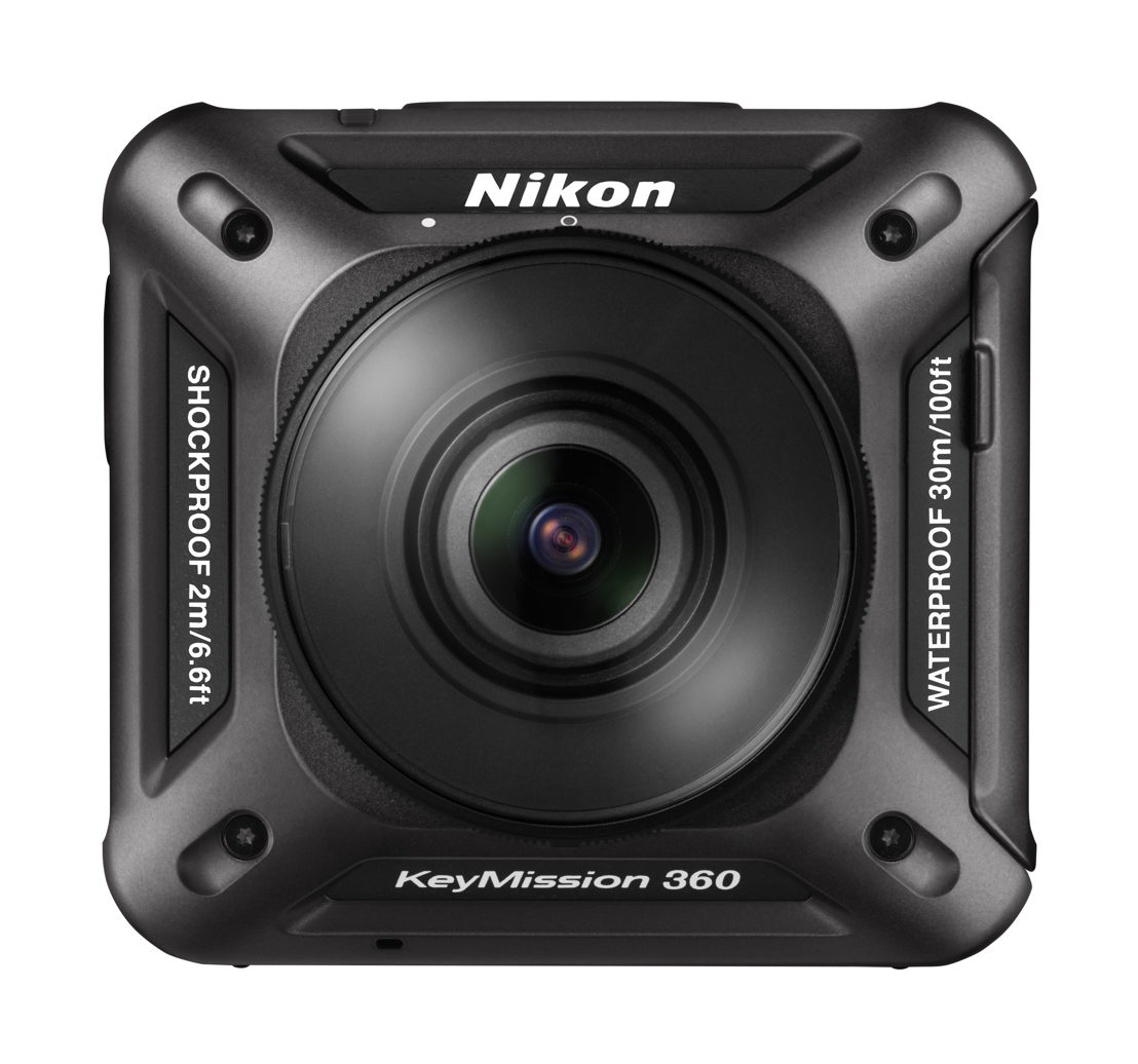 Nikon KeyMission 360 door TIPA uitgeroepen tot 'Best 360°Camera'