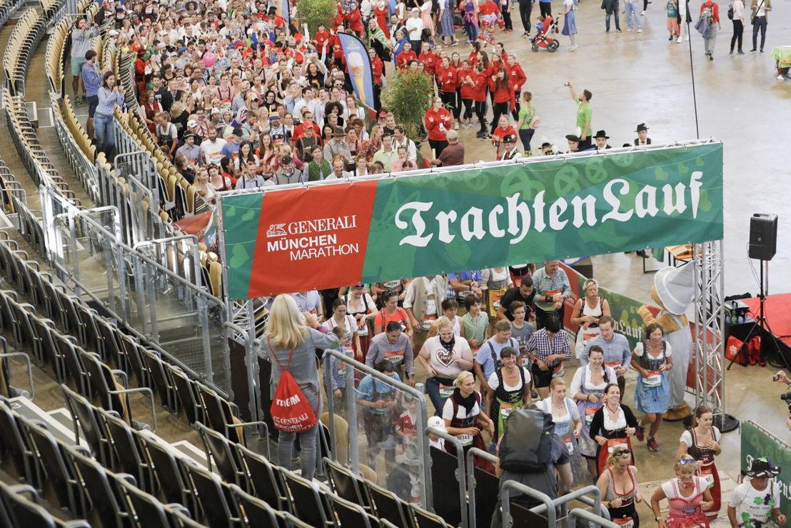 Auch dieses Jahr gestaltete sich der Läuferzug des Trachtenlaufs wieder bunt, international und traditionell