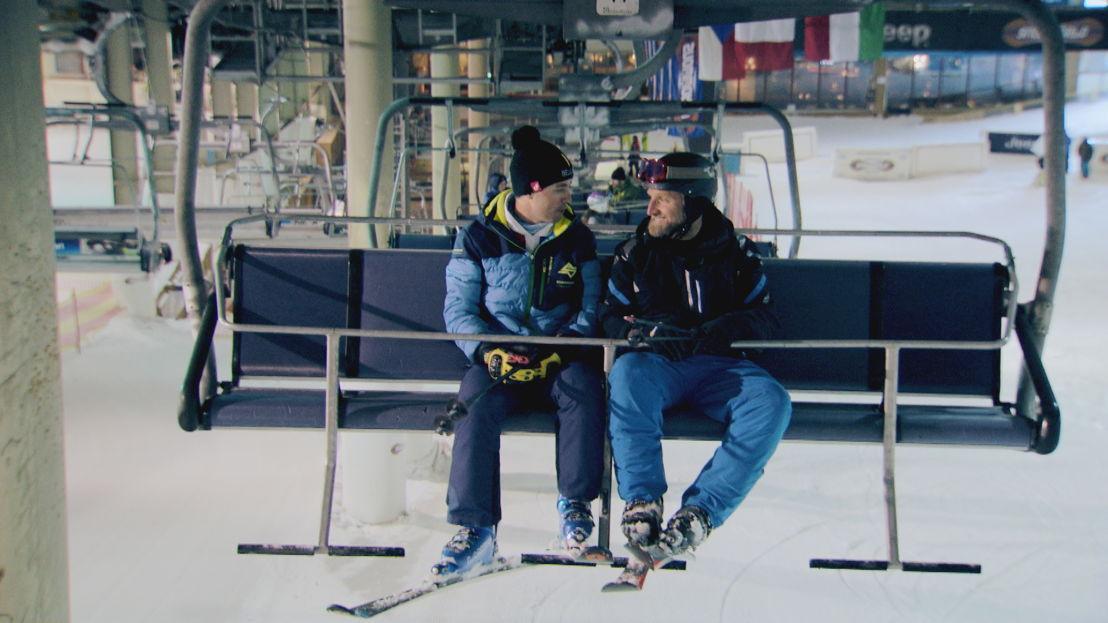 Voor hetzelfde geld- Skiën (c) VRT