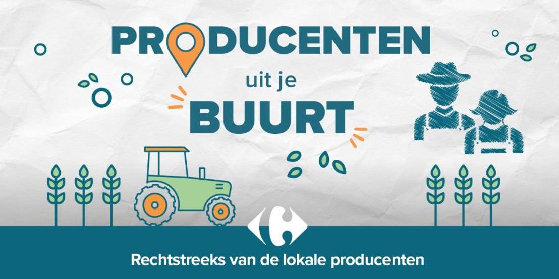 De producenten uit je buurt bij Carrefour: authentieke Belgische producten van kleine producenten in een straal van 40 kilometer