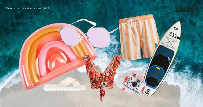 Let's go to the beach-each!