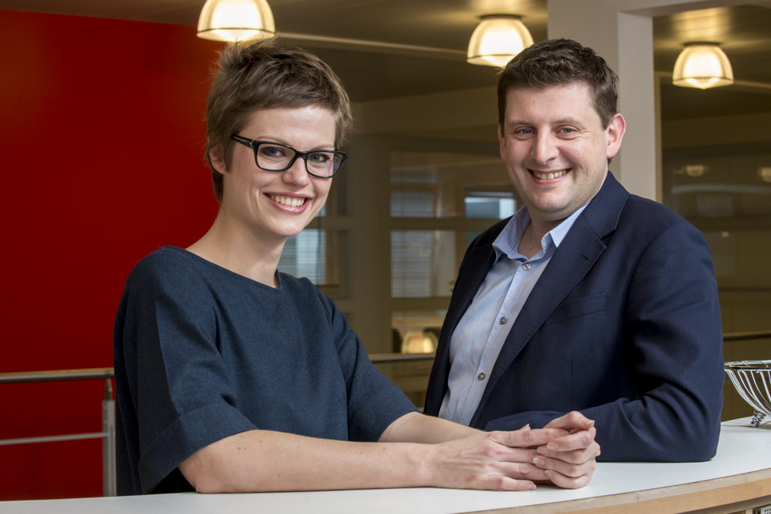 Stephanie Van Houtven en John Crombez