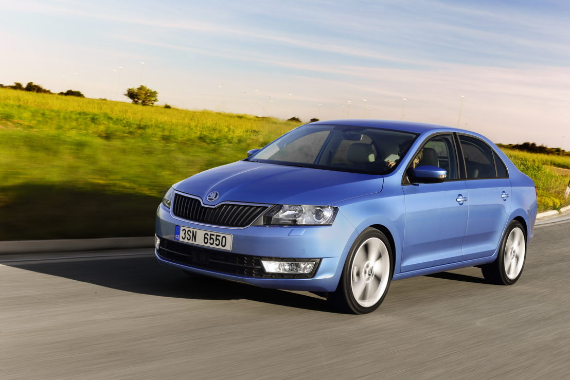 The brand delivered 97,900 vehicles worldwide – 10.6% more than in the same month last year. Amongst others, the ŠKODA RAPID (photo) achieved particularly strong growth in October (19,200 vehicles; +37.4%).