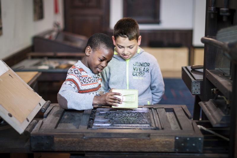 Workshop, photo: Ans Brys, Museum Plantin-Moretus