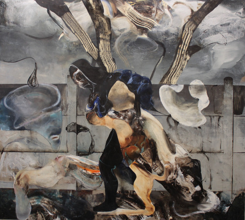 Adrian Ghenie presents 12 new works at the Tim Van Laere Gallery