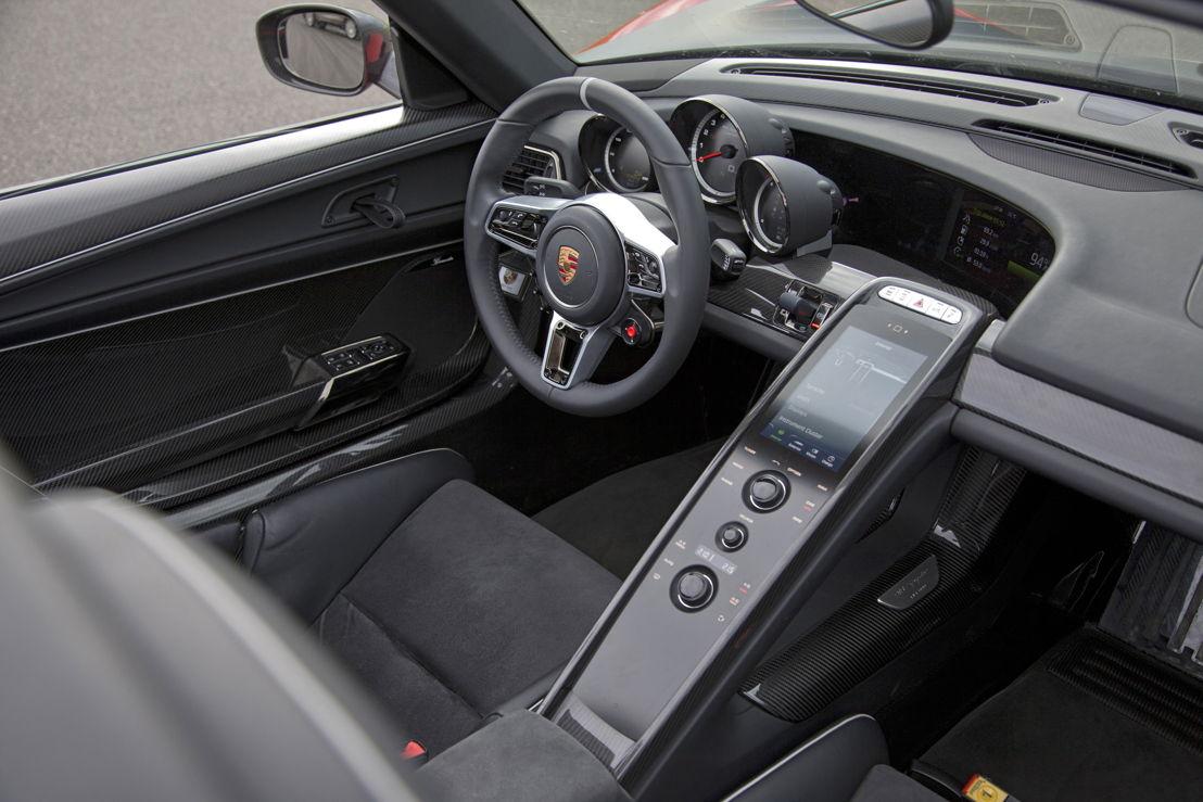 918 Spyder Interior