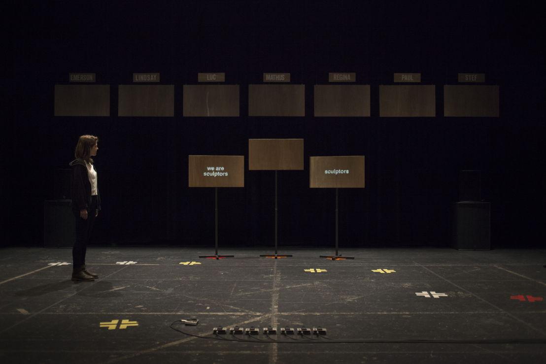 Theater: Silke Huysmans & Hannes Dereere BE, Mining Stories. Vrijdag 9 en zaterdag 10 Februari. Foto: Tom Callemin
