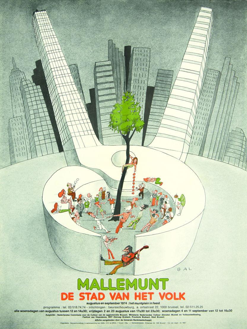 Mallemunt 1974, ontwerp GAL