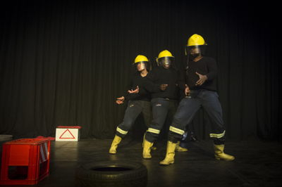 A scene from Fire House, pic Jan Potgieter