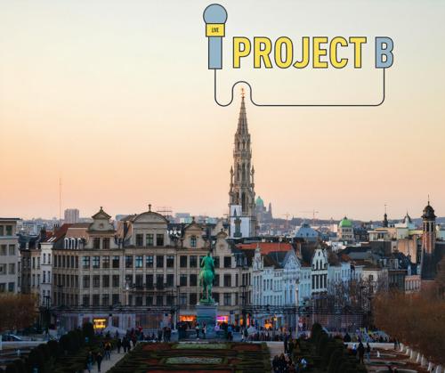 """""""Project B"""" voor Brussel"""