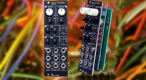 New 216 Sum & Difference Eurorack Module from ADDAC System has no equal