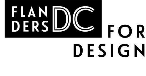 Nieuw logo Flanders DC for Design vanaf 19 januari 2017