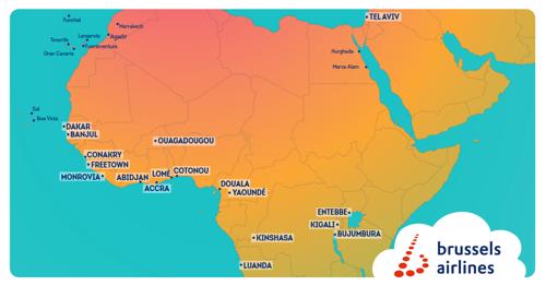 Brussels Airlines investeert verder in Afrika netwerk