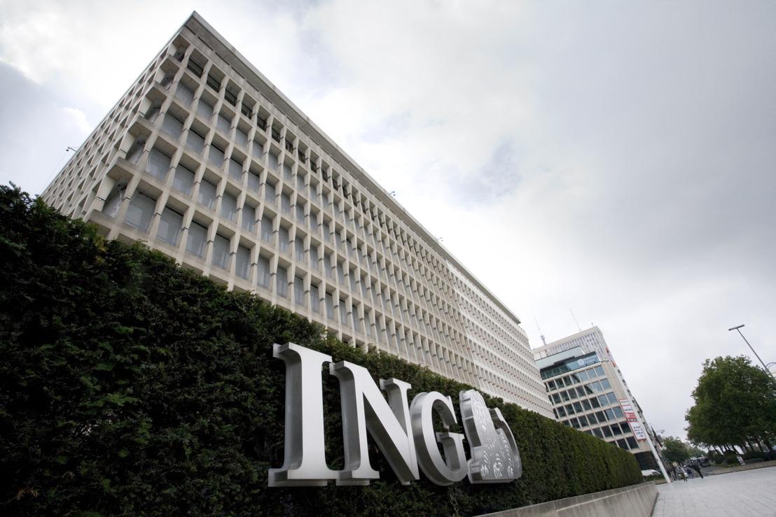 En ligne avec les conditions du marché, ING Belgique revoit son taux d'intérêt sur les gros dépôts