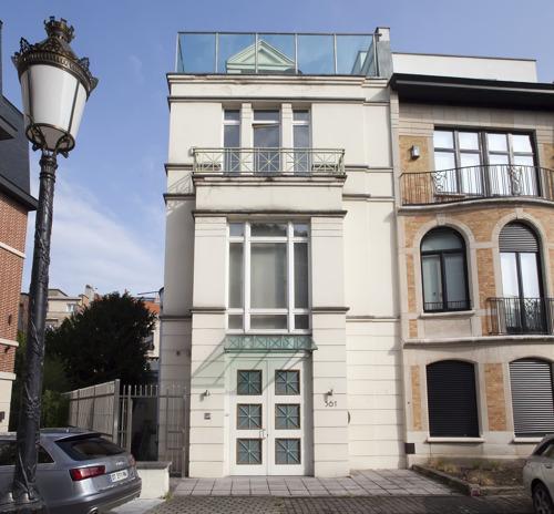 Maison de maître unique à vendre dans la rue la plus exclusive de Bruxelles