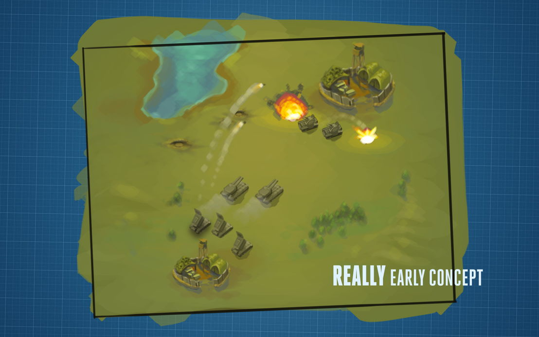 Really early Concept Rising Generals Battle