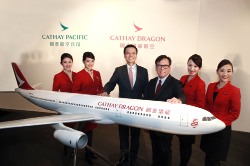 Cathay Pacific group enters new era with rebranding of Dragonair as Cathay Dragon