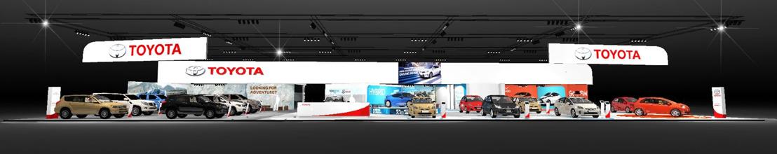 Toyota op het autosalon Brussel 2015