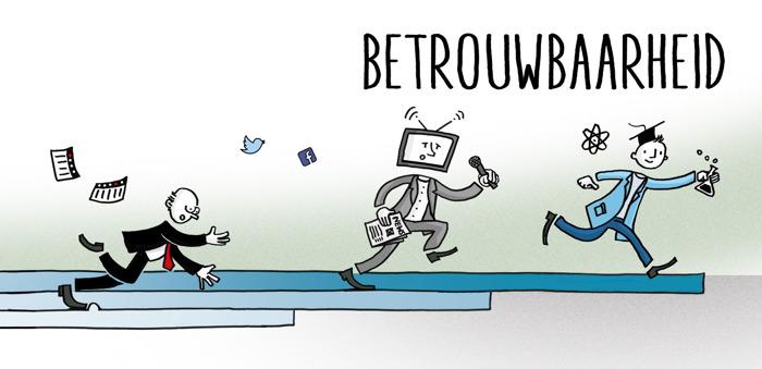 De Belg vertrouwt vooral zijn « peers » maar acht de traditionele media wel geloofwaardiger dan de sociale media
