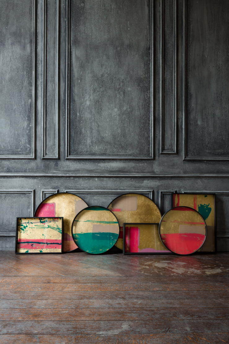 Notre Monde Bright Abstract tray collection_1