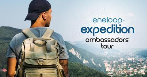eneloop præsenterer ambassadørtur igennem Europa