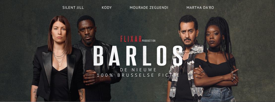 Met Barlos, hun nieuwe campagne tegen rijden onder invloed, gaan Brussel Mobiliteit en VO Citizen Netflix achterna
