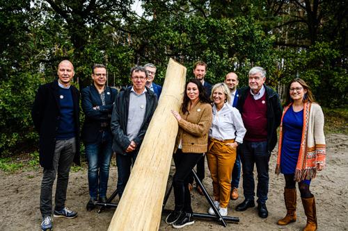 Kom op tegen Kanker-wandelpad feestelijk ingehuldigd in Oud-Turnhout