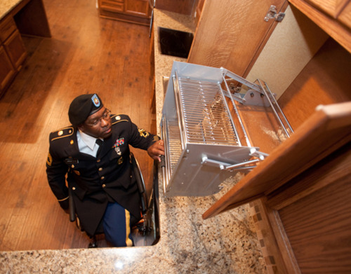 Ferguson builds partnership with Homes for Our Troops