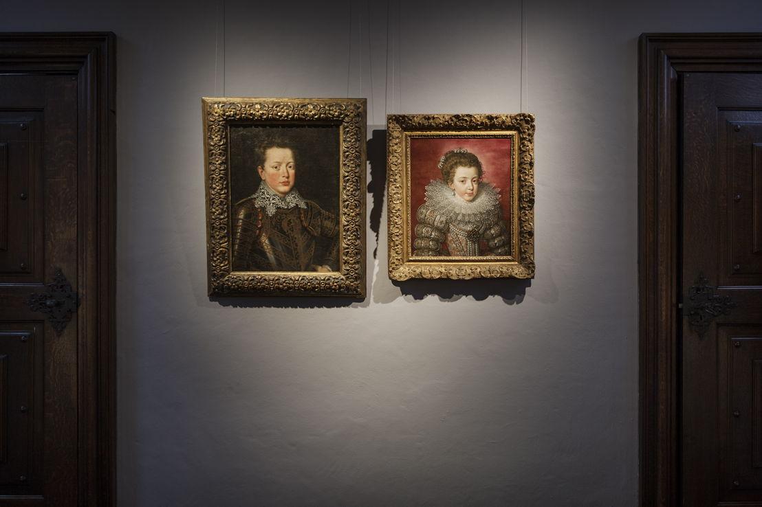 Zicht op de portretten van Frans Pourbus de Jonge,  (c) Ans Brys