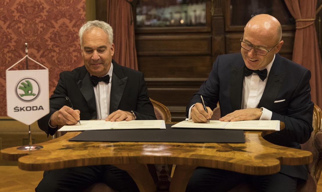 ŠKODA AUTO DigiLab and Champion Motors establish Joint Venture in Israel