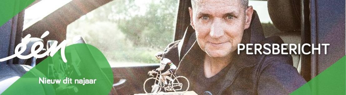 Karl Vannieuwkerke in het spoor van van Eddy Merckx voor nieuw Eén-programma