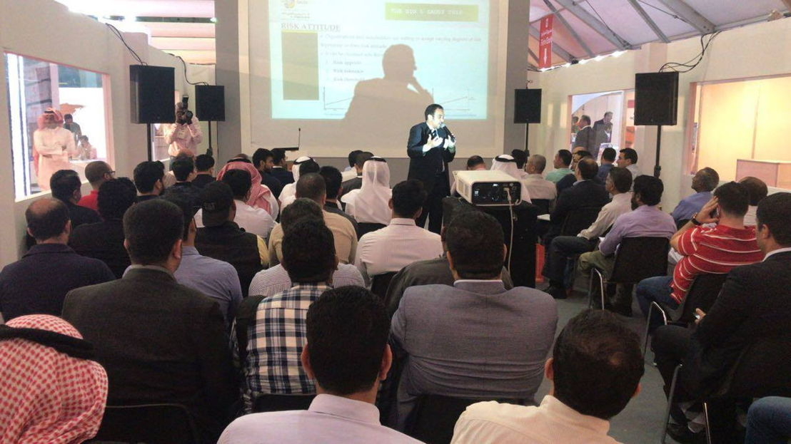 Workshop theater at The Big 5 Saudi 2018