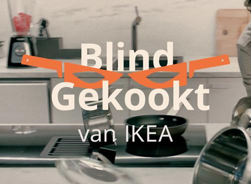 IKEA stelt kookkunsten én keukens op de proef in 'Blind Gekookt'