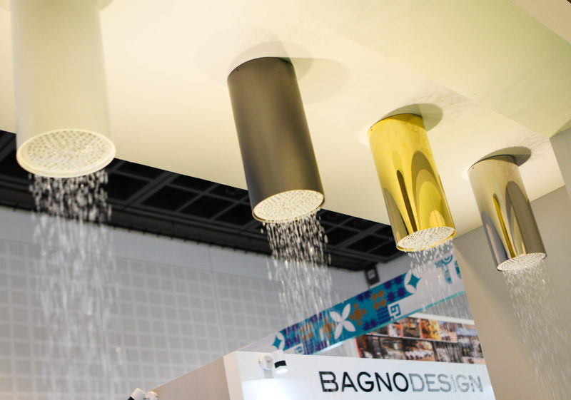 Sanitary systems displayed at The Big 5 2016