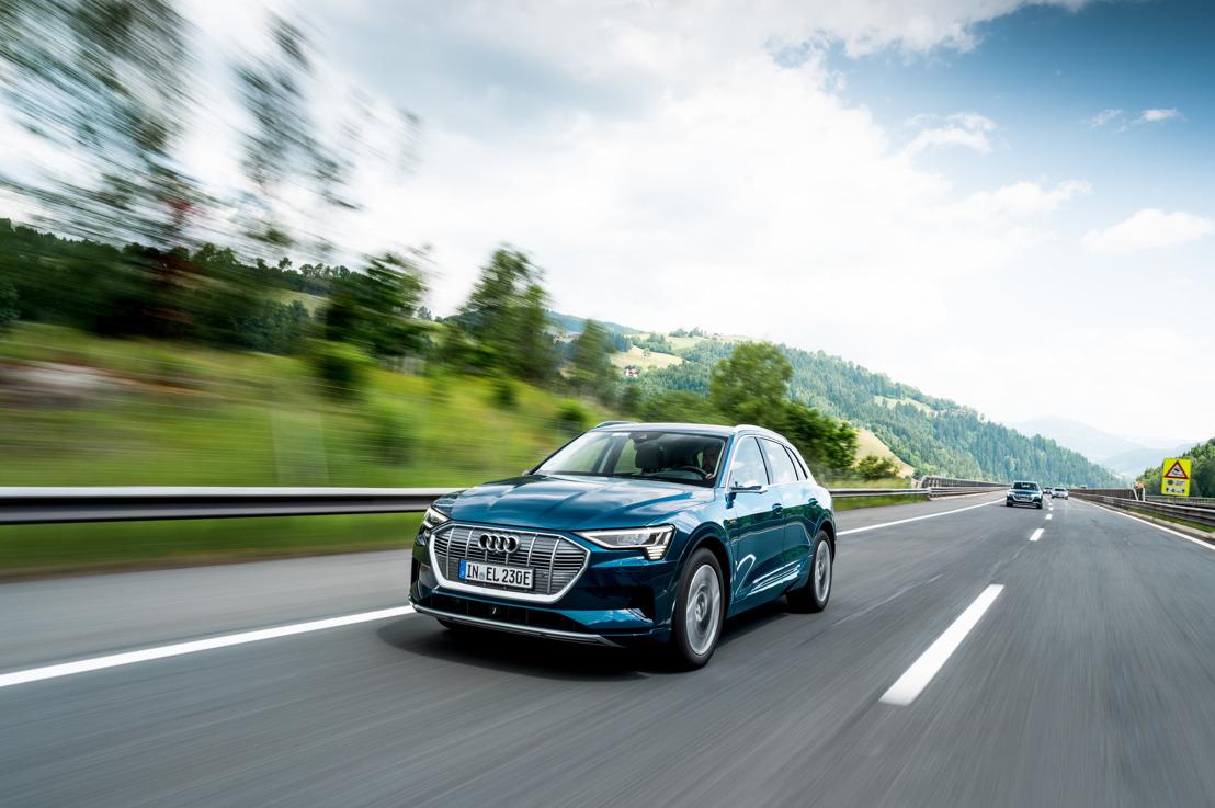Tien landen in 24 uur: Audi e-tron on tour