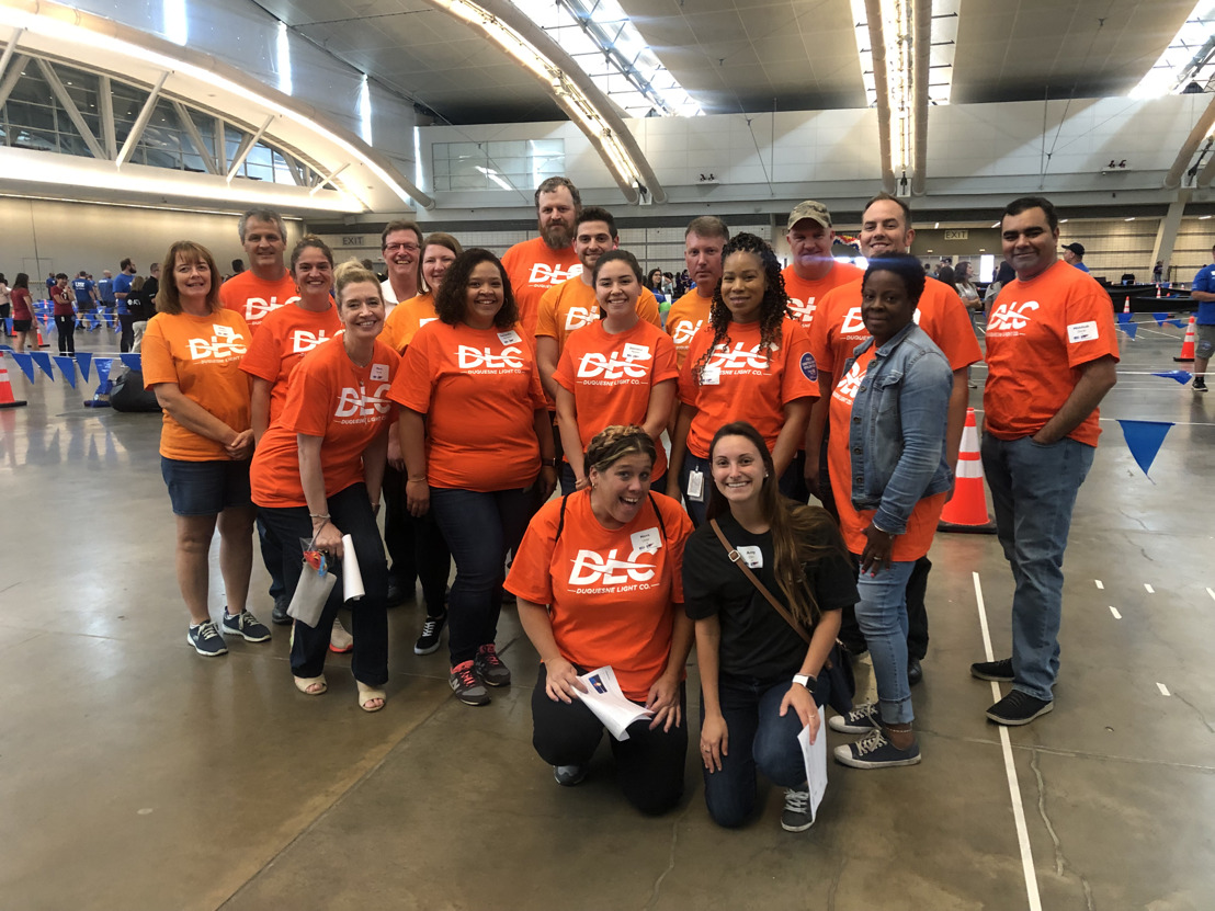 "Duquesne Light Volunteers Support United Way's Annual ""Games for Good"""